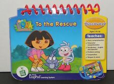 Leap Frog My First LeaPad  Dora The Explorer Dora to the Rescue Book Only