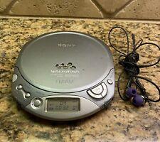 Sony Walkman D-F20 Esp Max Gray Tested and Works Fm/Am Radio Cd Player Euc Music