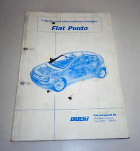 Schulungsunterlage Fiat Multipla Tipo 188 De 08/1999
