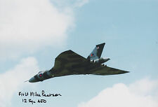 MIKE PEARSON Signed 12x8 Photo VULCAN PILOT COA