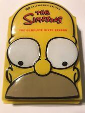 The Simpsons - Season 6 Collectors Edition (Molded Head Case)