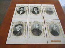 More details for superb set of 6 classical music composers, vintage postcards