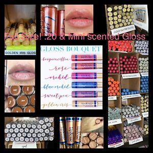 LipSense Moisturizing Gloss Glossy Diamond, Bougainvillea, Prizm Pearl Matte +++