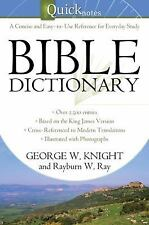 The Quicknotes Bible Dictionary (QuickNotes Commentaries)