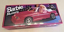 Barbie Ford Mustang Convertible Car - #65032 - Dark Pink - NIB & Unopened!