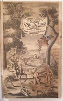 AHASVER FRITSCH CORPUS JURIS VENATORIO FORESTALIS DIRITTO VENATORIO FORESTE 1676