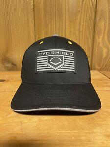 Evoshield Flexfit Baseball Hat L/XL Black
