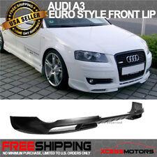 Fits 06-09 Audi A3 Front Bumper Lip - Poly Urethane PU