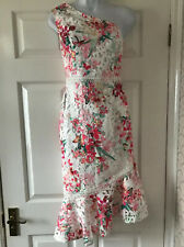 New Lipsy One Shoulder Occasion Lace Dress (DELILAH) Size 6  Prom  /party