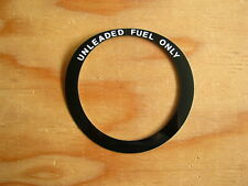 """New Fuel Filler Bezel decal """"UNLEADED FUEL ONLY"""" for Jeep Grand Wagoneer ~1991"""