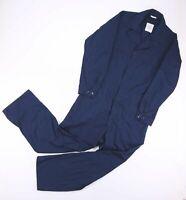Vintage Navy Blue Worker Overalls Jumpsuit Size Men's Large