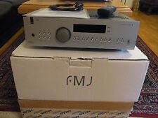 ARCAM FMJ av8 THX Ultra 2 7.1 canali precursore Argento in scatola originale