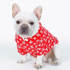 2018 New Clothes for Dogs French Bulldog T Shirts Hoodies for Small Large Dog