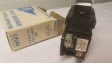 New Old Stock PUSHMATIC I-T-E P240 40 AMP 2 Pole Breaker