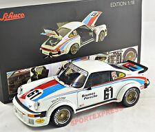 NEW 1/18 SCHUCO 450033800 Porsche 934 RSR, 24hrs Daytona 1976 #61 DIECAST