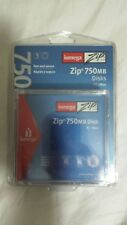 Iomega 750MB Zip Disk 3-Pack for PC/Mac - Brand New!
