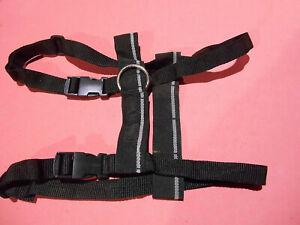 Car Safety dog car travel pet harness quick release soft comfort webbing UK made
