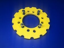 B.C.C Skids Yellow Ltr 450 Poly Sprocket Guard Protector 1/2 Bolts Universal