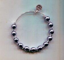 Gray Pearl bracelet retired Alex & Ani Silver