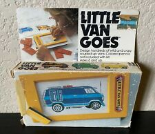 Vintage Little Van Goes by Tomy From Mid 1970's 2524 Trace & Color Toy In Box!