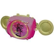 Hannah Montana Gilrs Boom Box MP3 Enceinte & Réveil avec Lumière
