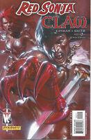 Red Sonja Claw Devils Hand #2 Gabrielle Del'Ott Dynamite Comic 1st Print 2006 NM