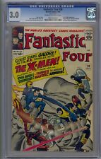 FANTASTIC FOUR #28 CGC 3.0  EARLY X-MEN APP