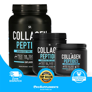 Collagen Peptides Hydrolyzed Type I and III,  Unflavored  by Sports Research
