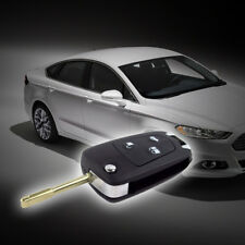 New Style 3 Buttons Flips Remote Key Fob Case Shell for Ford Mondeo Fiesta Focus