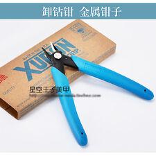 Micro Shear Flush Cutter Nail Art Rhinestone Gems Bead Remove Tools XURON 170-II