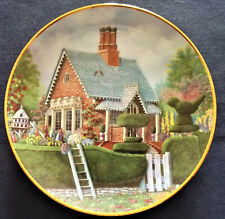Franklin Mint Lillput lane Paradise Lodge Fine Porcelain Plate