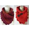 Crochet shell scallop neck warmer scarf pattern PATTERN ONLY