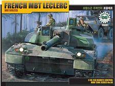 Academy 1/48 French MBT Leclerc Motorized Tank Plastic Model Kit Armor 13001
