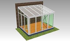 Wintergarten ALU-PVC 4,0 x 3,0 m direkt vom Hersteller