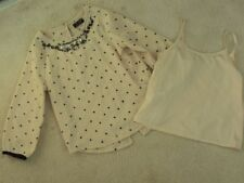 Next Girls' 3/4 Sleeve Sleeve Polyester T-Shirts, Top & Shirts (2-16 Years)