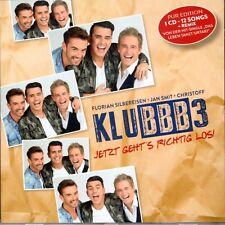 "KLUBBB3 ""Letzt geht's erst richtig los"" German Schlager  FREE SHIPPING NEW CD"
