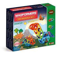 Magformers Mini Dinosaur 40 Piece Set - Children's Magnetic Construction Shapes