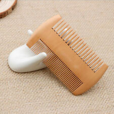 For Beard & Hair Comb Men's Mahogany Wooden Wood Dual-Sided Pocket Comb Presents