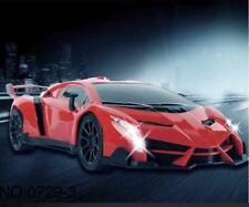 NEW Cheap RC 1/16 Scale Lamborghini Style Remote Control Electric Car w Lights