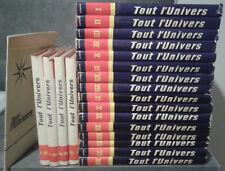 """Collection complète """"TOUT L 'UNIVERS"""" : 20 volumes et 1 index."""