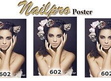 Poster Hochglanz Werbeplakat Naildeko Nagelstudio Nailpro Nr. 602 NATURAL BEAUTY