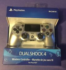 Official Sony Dualshock 4 Wireless Controller [ SILVER Edition ] NEW