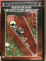 Unearthed  Untold: The Path to Pet Sematary NEW, OPENED, NO DVD, BLU-RAY ONLY
