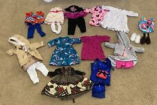 """Lot of 18"""" American Girl and Our Generation Outfits"""
