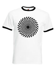 Keith Moon, 60's, Spiral, Design, Ringer, T-Shirt, the Who, MOD, Retro, BNWT