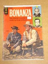 BONANZA #9 VG (4.0) GOLD KEY COMICS AUGUST 1964