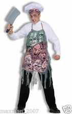 Dinner At Ate Halloween costume Mens Severed Faces Bloody Parts Chop Shop NEW