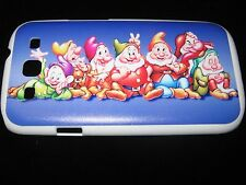 Seven Dwarfs Hard Cover Case for Samsung S3 III Snow White's Seven Dwarfs Blue