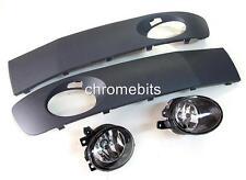 Nebelscheinwerfer Lampen & Gitter Satz für VW T5 2010+60 61 Facelift