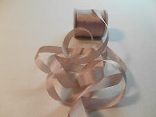 7 mm 100%  Silk  Ribbon /Old World Mauve